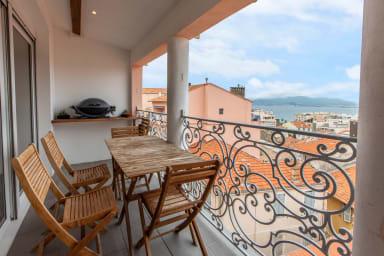 IMMOGROOM - Beautiful apartment - seaview -A/C- Le SUQUET- CONGRESS/BEACHES
