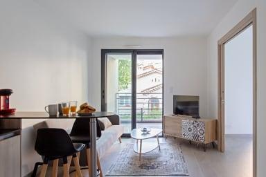 Bel appartement avec balcon et parking proche Croisette à Cannes - Welkeys