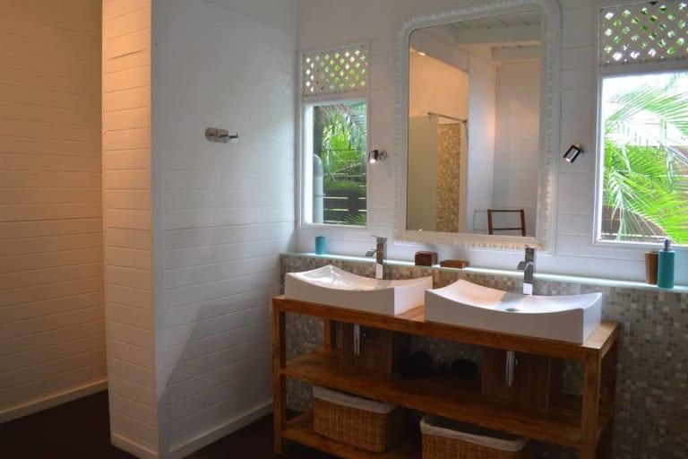 Salle de bain chambre master