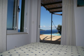 Bedroom 1 is step away from widely open endless sea view