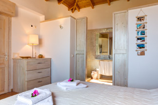 Stylish bedroom 1 with ensuite bathroom