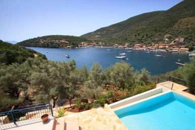Lovely view over Sivota bay