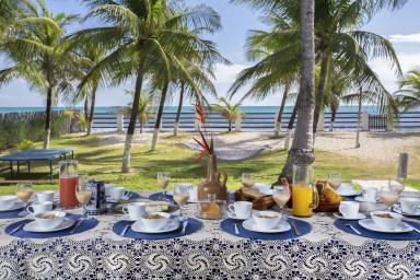 luxury villa holidays in Taiba - Terrace - A Vida é Um Carnaval