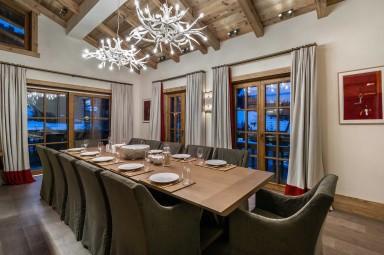 luxury ski holidays - Courchevel - Dining room - Chalet Nanuq