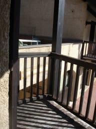 balcon côté gauche