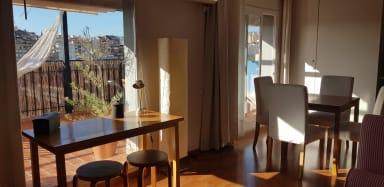 Ideal for couples, wifi, city views+terrace! - Gràcia -Parc Güell Penthouse