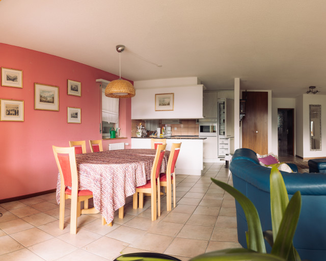 Appartement dans le village de montagne de Loèche-les-Bains ...