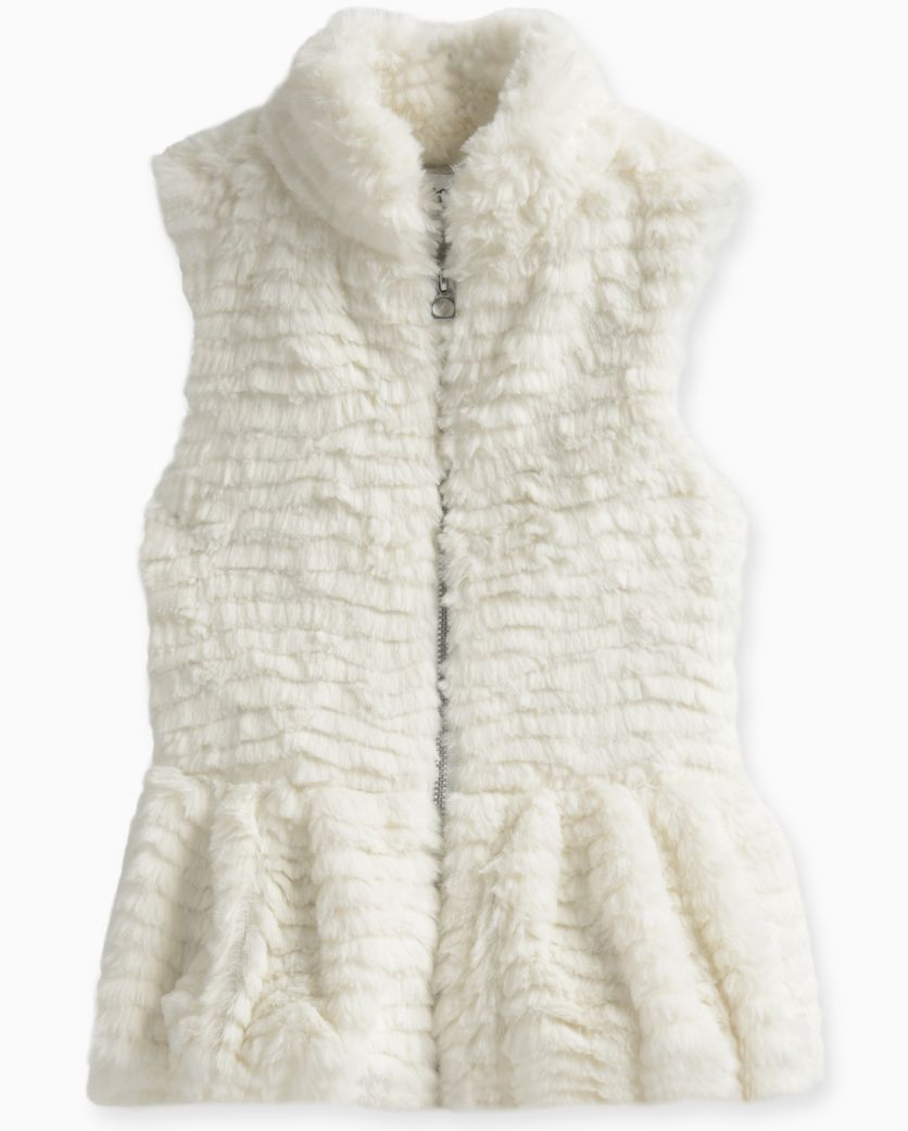 Little Girl Faux Fur Vest