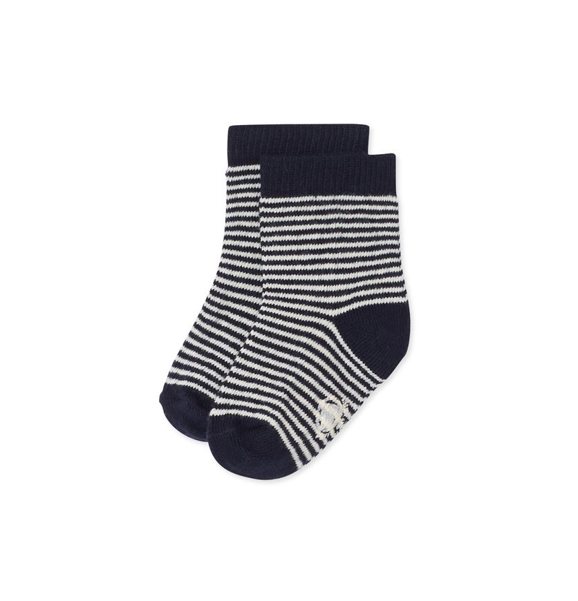 Baby boy's milleraies striped socks