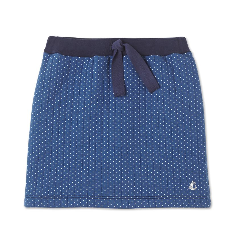 Girls' polka dot skirt