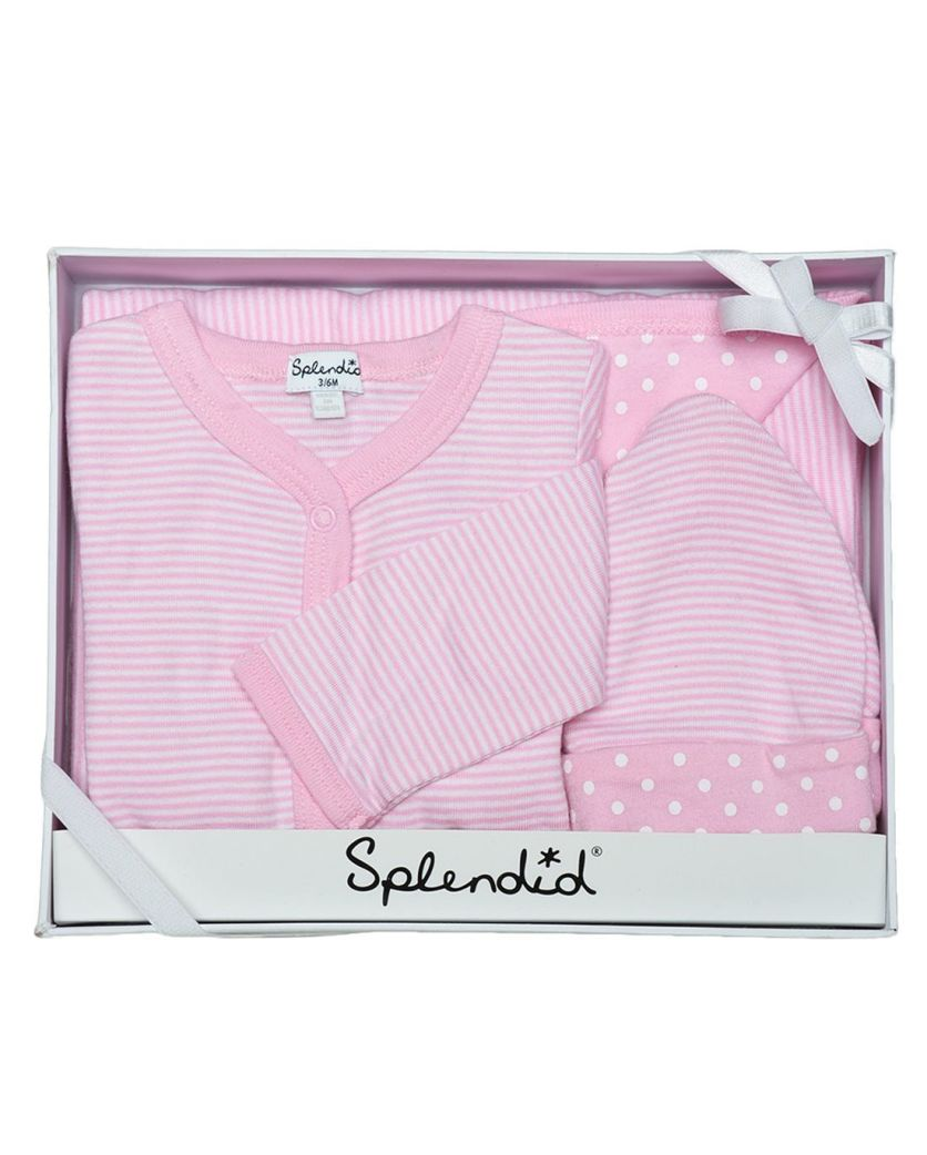 Baby Girl 3-Piece Gift Set