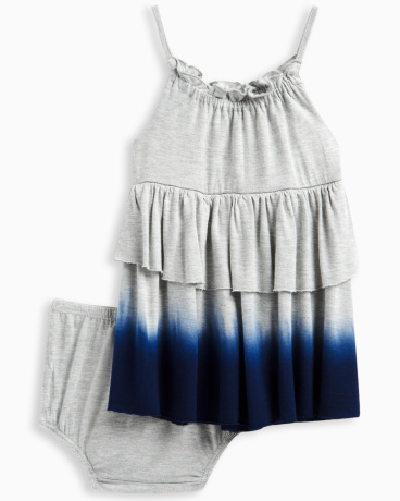 Baby Girl Dip Dye Dress