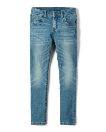 Boys Super Stretch Skinny Jeans - Arctic Wash