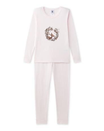 Girl's pajamas with motif