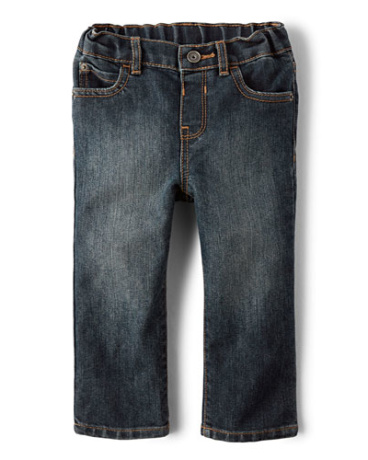Toddler Boys Straight Jeans - Dust Bowl Wash
