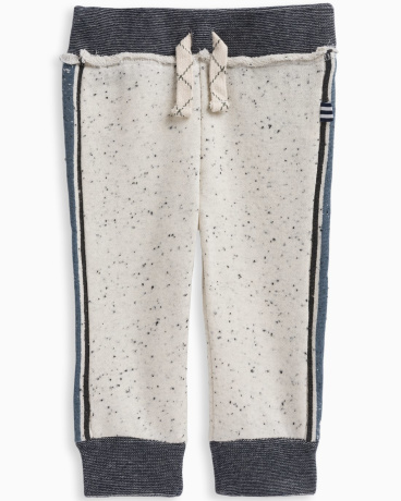 Baby Boy Speckle Brushed French Terry Jogger