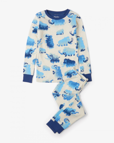 Woolly Mammoths Organic Cotton Pajama Set