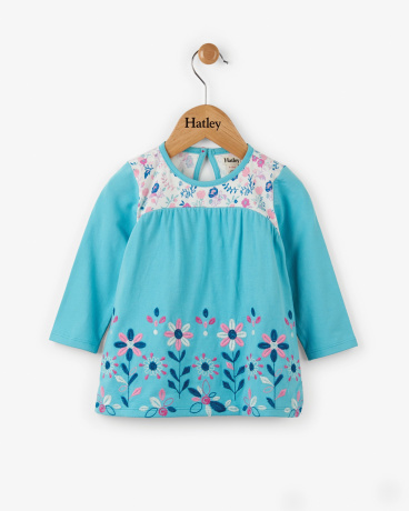 Flower Field Baby Tunic Tee