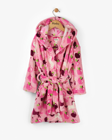 Pony Orchard Kids' Fleece Robe