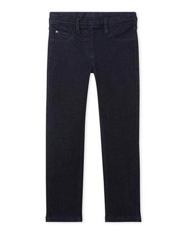 Girl's polka dot print jeans