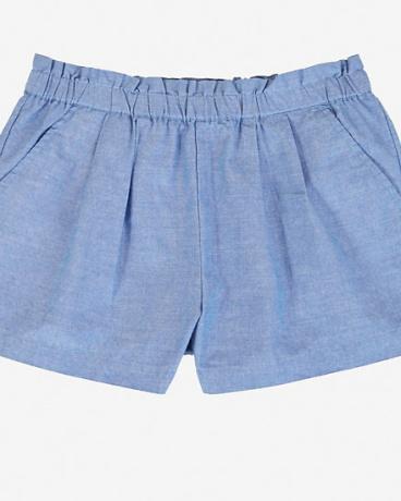 Little Girls' Pull-On Chambray Short (2T-7)