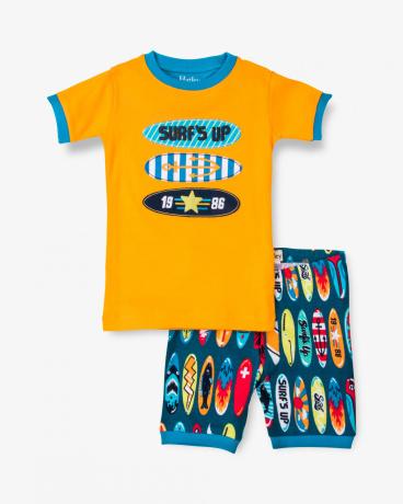 Surfboards Organic Cotton Short Pajama Set