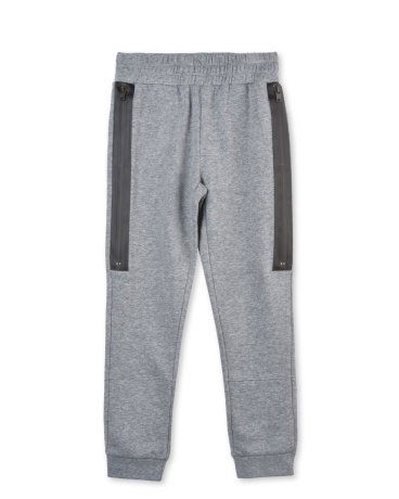 Spike Gray Zipper Pants