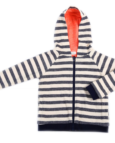 Cooper French Terry Striped Hoodie