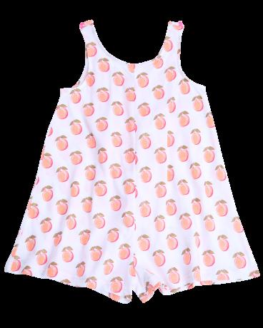 Sleeveless Cotton Jersey Romper