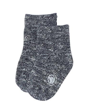 Baby boys' mouliné jersey socks