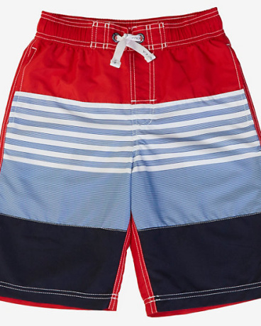 Boys' Ombre Stripe Swim Trunk (8-16)