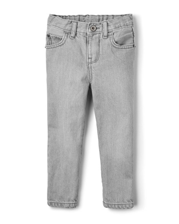 Toddler Boys Skinny Jeans - Dove Grey Wash