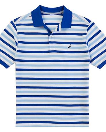 Little Boys' Skinny Stripe Polo Shirt (2T-7)