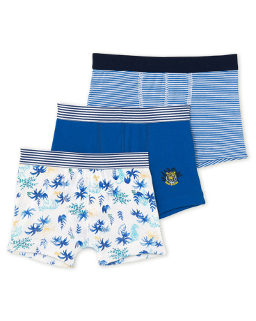 Pack of 3 boy's boxers