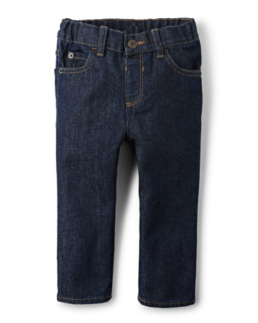 Baby And Toddler Boys Basic Skinny Jeans - Rinse Wash