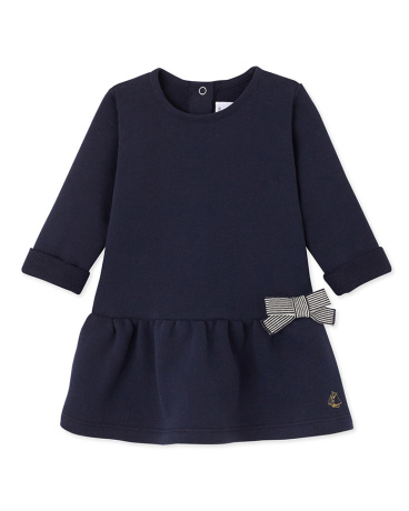 Baby girl's fleece dress