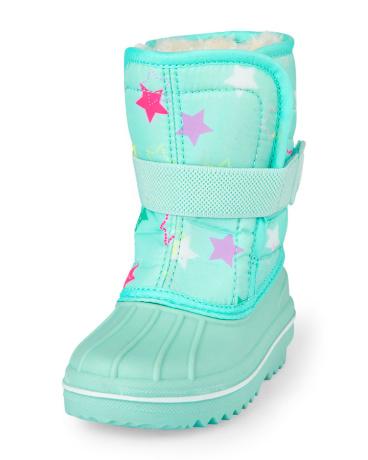 Toddler Girls Star Print Snowboot