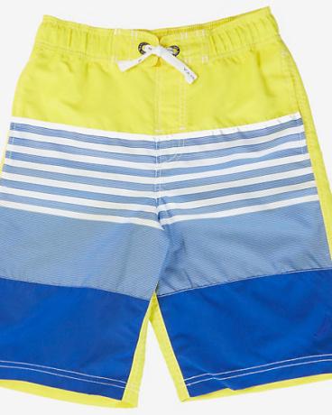 Little Boys' Ombre Stripe Swim Trunk (2T-7)