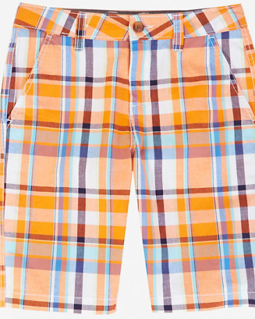 Little Boys' Plaid Short (2T-7)