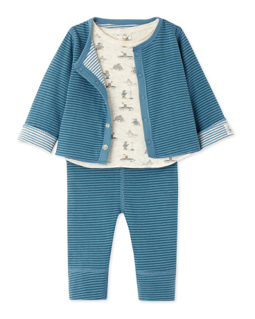 Baby boy's 3-piece set