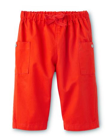 Baby boy twill pants
