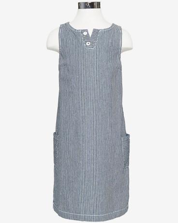 Girls' Railroad Stripe Shift Dress (8-16)