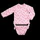 Girls UVF long sleeve rashguard and bikini bottom