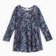Little Girl Floral Print Dress