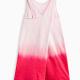 Little Girl Dip Dye Cross Back Dress