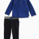 Baby Boy Henley Top with Pant Set