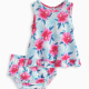 Baby Girl Print Dress and Bloomer