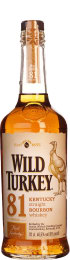 Wild Turkey Bourbon 81 Proof 70cl