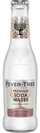 Fever Tree Soda Water 24x20c