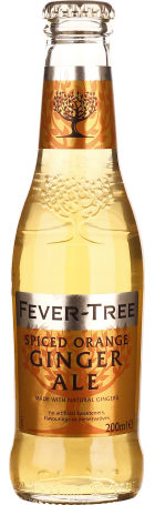 Fever Tree Spiced Orange Ginger Ale 24x20c